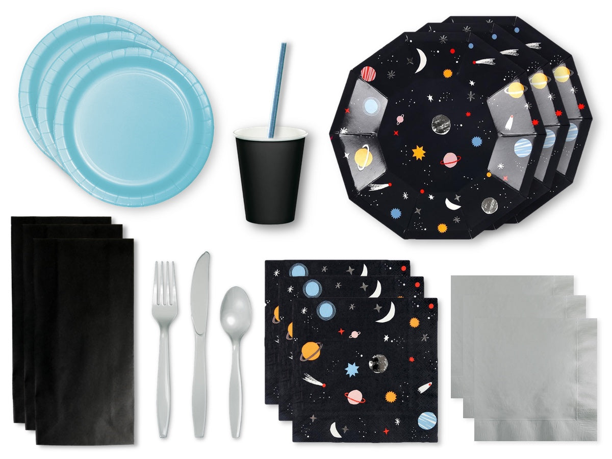 Space theme party box | Space party pack from Party Kit Company