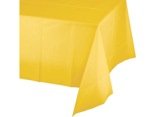 Yellow Plastic Party Tablecloth