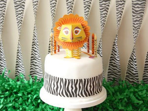 Party Kit Company - Decorations Baking and Candles Animal Print Candles
