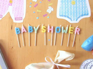 Party Kit Company - Decorations Baking and Candles Baby Shower Candles