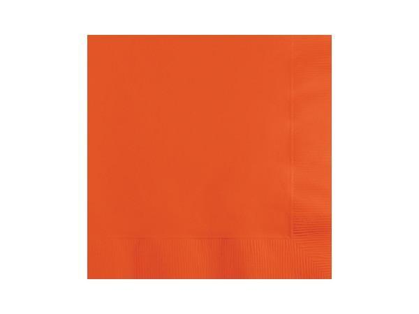 Party Kit Company - Tableware Napkins Bittersweet Orange Lunch napkins (50pk)