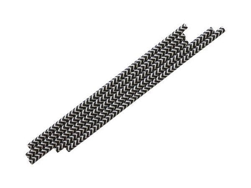 Party Kit Company - Tableware Straws Black Chevron straws (25pk)