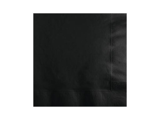 Party Kit Company - Tableware Napkins Black Lunch napkins (20pk)
