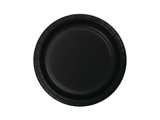 Party Kit Company - Tableware Plates Black Lunch Plates (8pk)