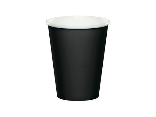 Party Kit Company - Tableware Cups Black Party Cups (8pk)