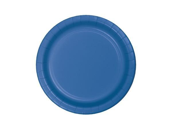 Party Kit Company - Tableware Plates Blue Lunch Plates (8pk)