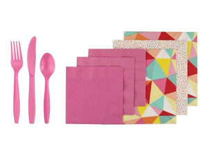 Party Kit Company Party Kits CANDY COLOURED PARTY KIT