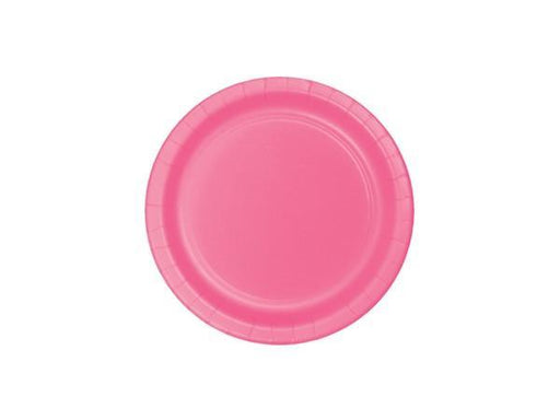 Party Kit Company - Tableware Plates Candy Pink Cake plates (8pk)