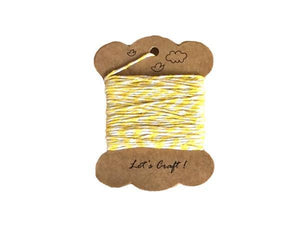 Party Kit Company - Decorations Confetti and More Yellow Coloured Twine