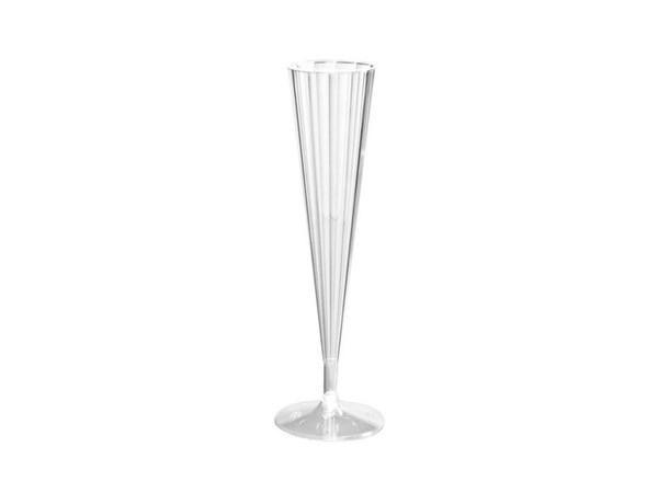 Party Kit Company - Tableware Cups Deluxe Disposable Champagne Flutes (10pk)