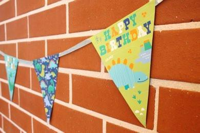 Party Kit Company - Decorations Garlands and Bunting Dinosaur Bunting