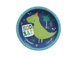 Party Kit Company - Tableware Plates Dinosaur Lunch Plates (8pk)