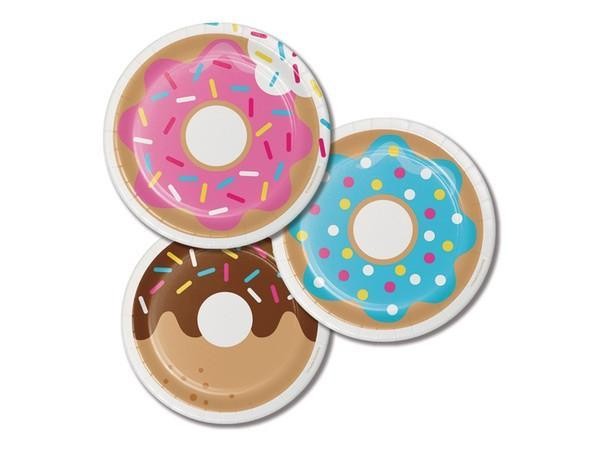 Party Kit Company - Tableware Plates Donut Cake Plates (8pk)