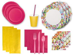 Party Kit Company Party Kits FLORAL FIESTA PARTY KIT