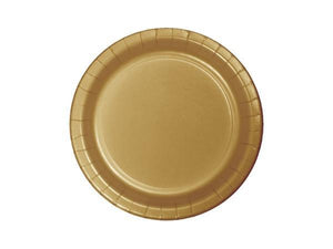 Party Kit Company - Tableware Plates Gold Lunch Plates (24pk)