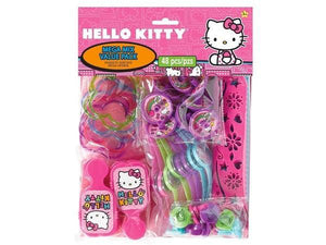 Party Kit Company - Decorations Favours and Dress-ups Hello Kitty Mega Pack Party Favours (48pk)