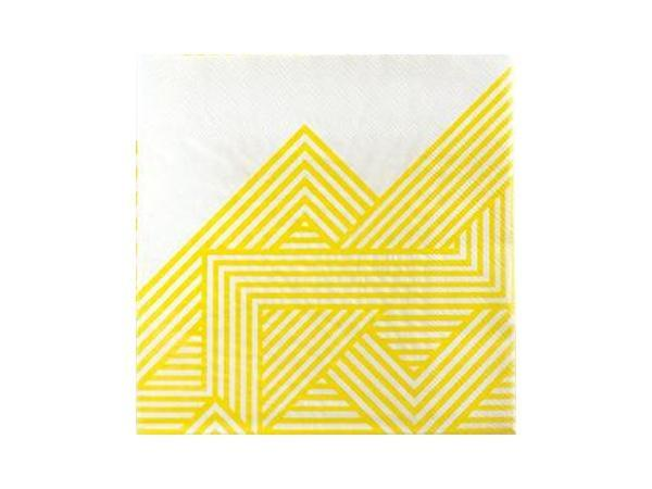 Party Kit Company - Tableware Napkins Hello Yellow Lunch Napkins (20pk)