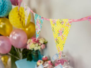 Party Kit Company - Decorations Garlands and Bunting High Tea Floral Bunting