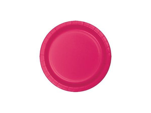 Party Kit Company - Tableware Plates Hot Magenta Pink Cake plates (8pk)