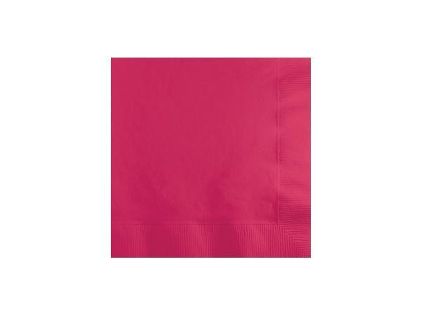 Party Kit Company - Tableware Napkins Hot Magenta Pink Cocktail Napkins (20pk)