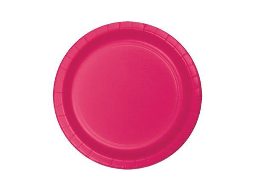 Party Kit Company - Tableware Plates Hot Magenta Pink Lunch Plates (8pk)