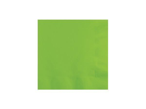 Party Kit Company - Tableware Napkins Lime Green Cocktail Napkins (50pk)