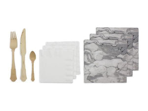 Party Kit Company Party Kits MARBLE LUXE PARTY KIT