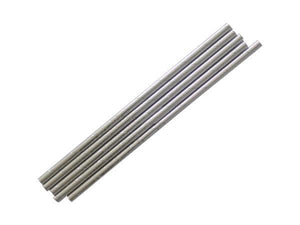 Party Kit Company - Tableware Straws Metallic silver straw (25pk)