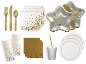 Party Kit Company Party Kits MODERN METALLIC PARTY KIT