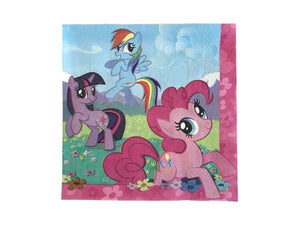 Party Kit Company - Tableware Napkins My Little Pony Lunch napkins (16pk)