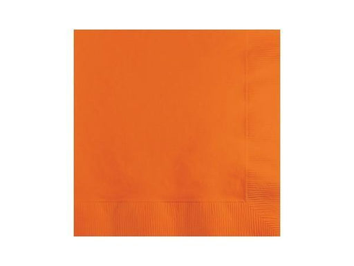 Party Kit Company - Tableware Napkins Orange Lunch napkins (20pk)