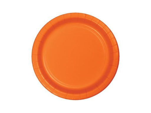 Party Kit Company - Tableware Plates Orange Lunch Plates (8pk)