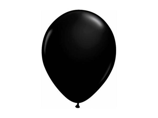 Party Kit Company - Decorations Balloons and Balls Black Party balloons - 28cm (10pk)