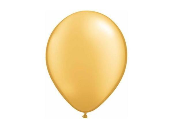 Party Kit Company - Decorations Balloons and Balls Metallic Gold Party balloons - 28cm (10pk)