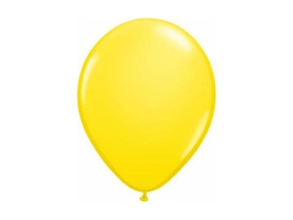 Party Kit Company - Decorations Balloons and Balls Yellow Party balloons - 28cm (10pk)