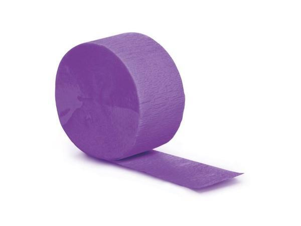 Party Kit Company - Decorations Garlands and Bunting Purple Party Streamers