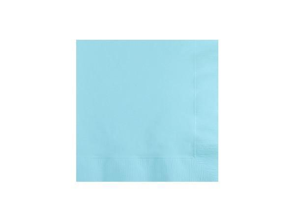 Party Kit Company - Tableware Napkins Pastel Blue Cocktail Napkins (20pk)