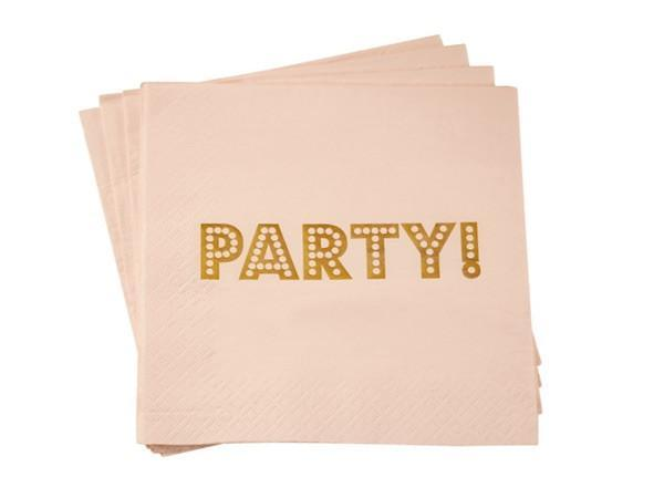 Party Kit Company - Tableware Napkins Pastel 'Party' Lunch napkins (20pk)