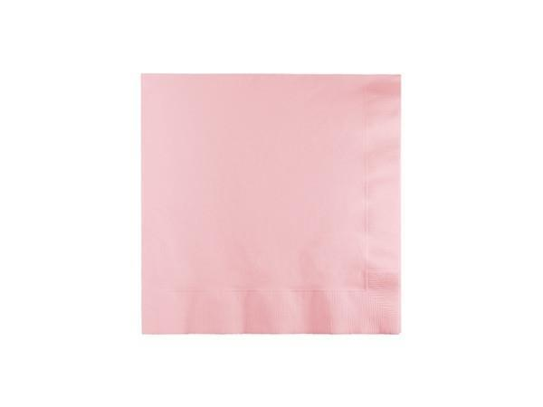 Party Kit Company - Tableware Napkins Pastel Pink Cocktail Party Napkins (20pk)
