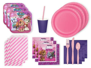 Party Kit Company Party Kits PINK PAW PATROL PARTY KIT