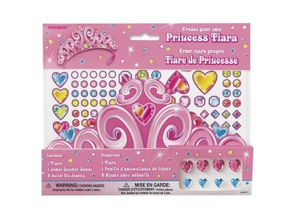Party Kit Company - Decorations Favours and Dress-ups Princess Tiara - Create your own (1pk)