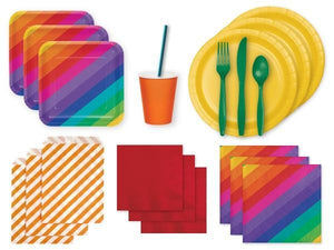 Party Kit Company Party Kits RAINBOW PARTY KIT