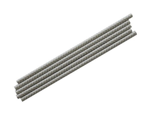 Party Kit Company - Tableware Straws Silver Chevron Straw (25pk)