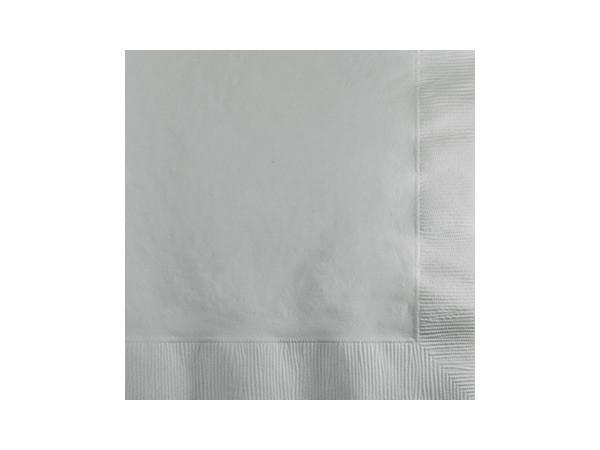 Party Kit Company - Tableware Napkins Silver Lunch napkins (50pk)