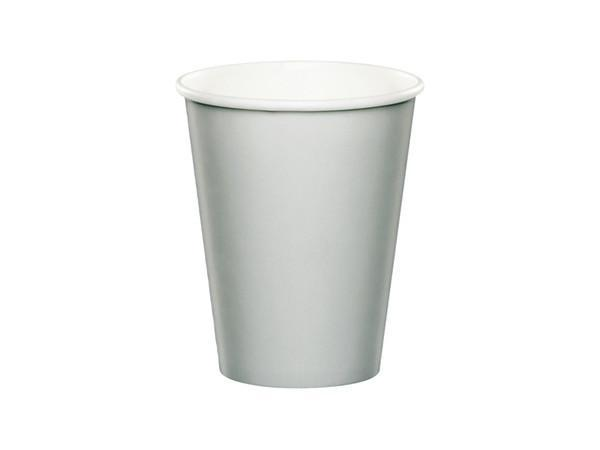 Party Kit Company - Tableware Cups Silver Party Cups (24pk)
