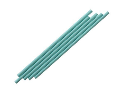 Party Kit Company - Tableware Straws Sky blue paper straw (25pk)