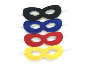 Party Kit Company - Decorations Favours and Dress-ups Superhero Felt Party Masks (8pk)
