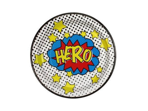 Party Kit Company - Tableware Plates Superhero Lunch Plates (8pk)