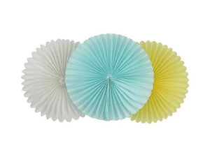 Party Kit Company - Decorations Balloons and Balls Tissue Fans - 25cm