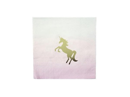 Party Kit Company - Tableware Napkins Unicorn Cocktail Napkins (16pk)